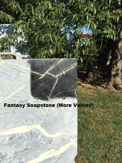 DIY Soapstone Countertop Blanks