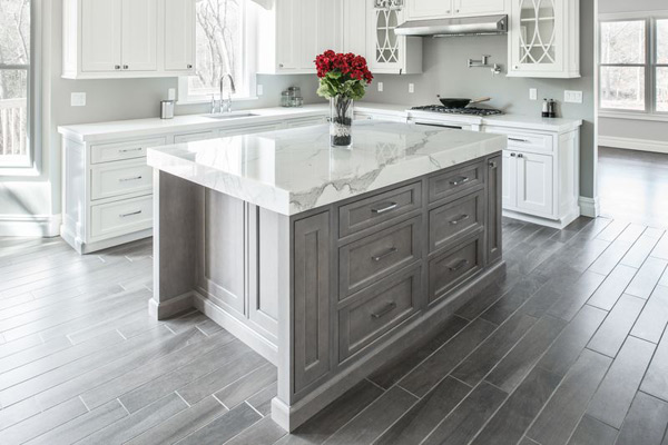 Marble Counter-tops Island