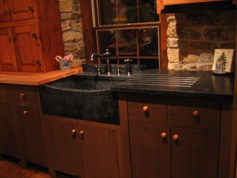 Soapstone Sink - Stone Masters Inc.