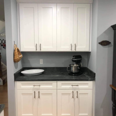 Semi Custom Cabinets West Chester PA Coffee Bar Remodeling