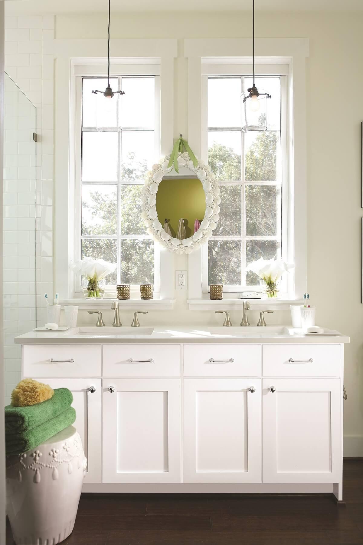 Wellborn Semi Custom bathroom cabinets