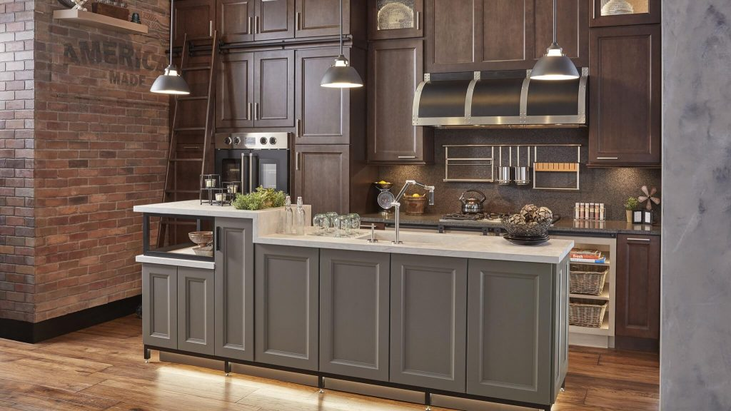 Wellborn Custom kitchen cabinets